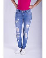 Джинсы женские Crown Jeans модель 1295-51819-68287-DESTROY-241