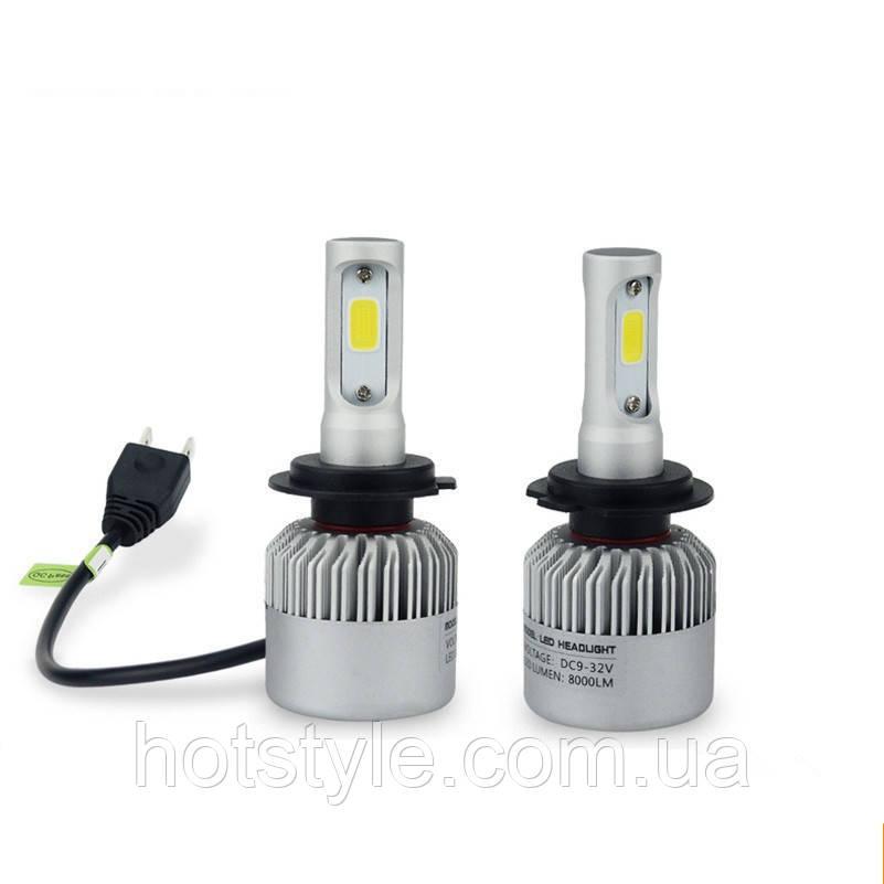 Автомобильные лампы светодиодные Partol H7 PX26d 12В 72Вт 8000лм