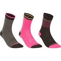 Носки спортивные  детские Artengo RS 160 3 пары для девочки