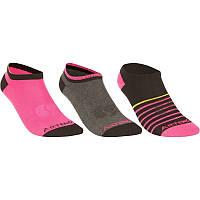 Носки спортивные Artengo RS 160 Teen 3 пары для девочки