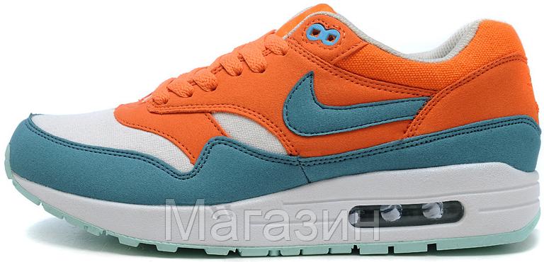 86261162f4a6 Женские Кроссовки Nike Air Max 87 Найк Аир Макс 87 Оранжевые — в ...