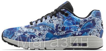 Женские кроссовки Nike Air Max Ultra Tokyo Найк Аир Макс синие, фото 2