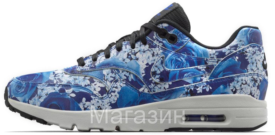 Женские кроссовки Nike Air Max Ultra Tokyo Найк Аир Макс синие