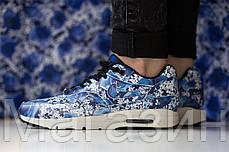 Женские кроссовки Nike Air Max Ultra Tokyo Найк Аир Макс синие, фото 3