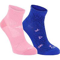Носки детские Kalenji Graph 2 пары для девочки