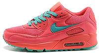 Женские кроссовки Nike Air Max 90 (найк аир макс 90) розовые