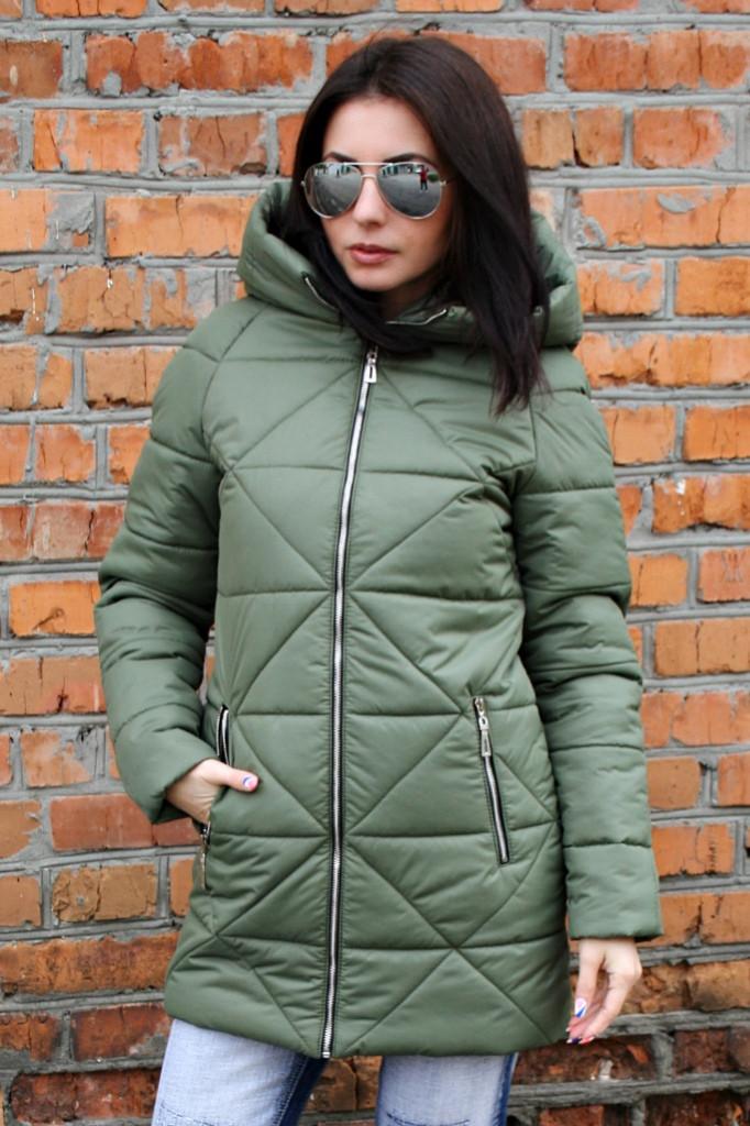 Женская зимняя парка 18 (5 цветов), женская зимняя куртка, женская парка зимняя, от производителя, дропшиппинг -  Irmana.com.ua - оптовый интернет магазин одежды в Харькове