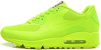 Женские кроссовки Nike Air Max 90 USA Hyperfuse (найк аир макс 90) салатовые