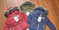 Зимняя курточка на синтепоне 1-5 лет