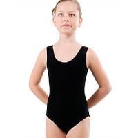 Купальник гимнастический, майка, синт р. 30 - р. 36