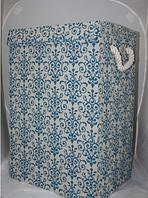 Бельевая корзина (60*30*40 см) раскладная