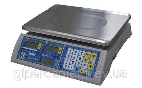 Весы торговые Vagar VP-LN LED до 15 кг, фото 2