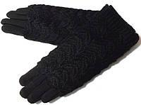 Перчатки и митенки 2 в 1 очень красивые черные