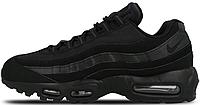"""Женские кроссовки Nike Air Max 95  """"Triple Black"""" (найк аир макс 95) черные"""