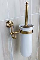 Ерш туалетный настенный (латунь/керамика) Versace
