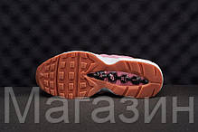 Женские кроссовки Nike Air Max 95 Pink Oxford Найк Аир Макс 95 розовые, фото 3