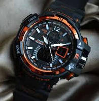 Спортивные часы Casio G-Shock GW-A1100 Black Orange