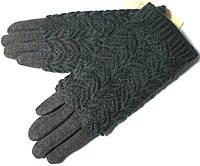 Перчатки и митенки 2 в 1 очень красивые серые