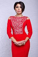 """Платье """"Питония"""" красный"""