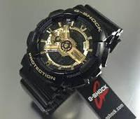 Часы спортивные  CASIO G - SHOCK GA 110 Black Gold