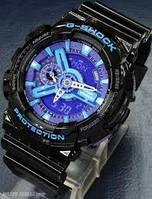 Часы спортивные CASIO G - SHOCK GA 110 Black Purple