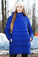 Стильная стеганая куртка силуэта бочонок Марелла до 64 размера