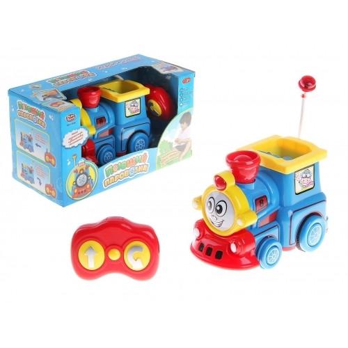 Співаючий паровозик Joy Toy 7245 на радіокеруванні зі світловими і звуковими ефектами