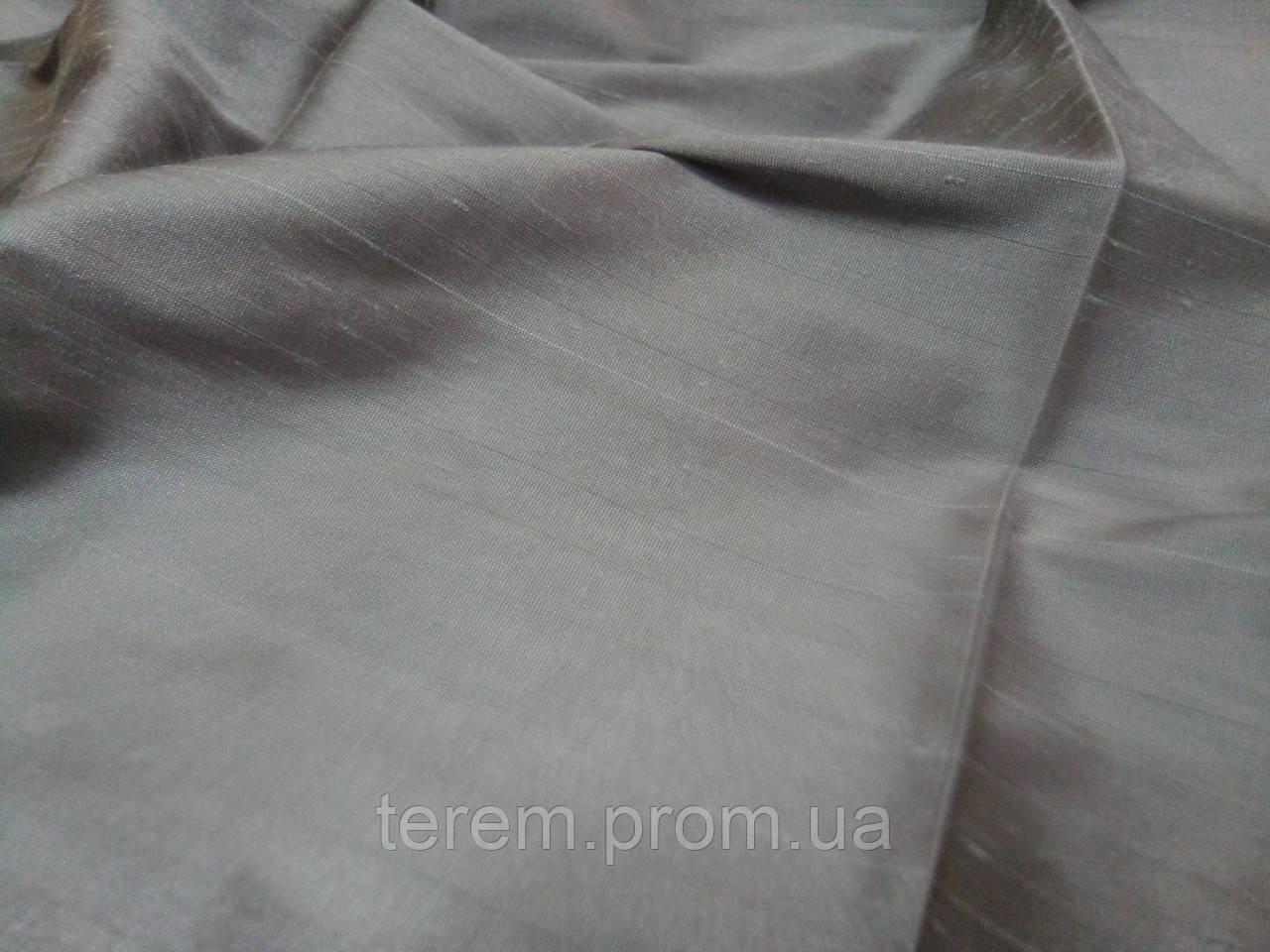"""Ткань для штор, однотонная под шёлк, """"МоннаЛиза"""", 150 см, Турция"""