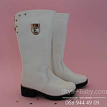 Белые зимние сапоги фирменной обуви ТомМ р. 33, фото 3