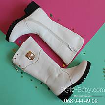 Белые зимние сапоги фирменной обуви ТомМ р. 33, фото 2