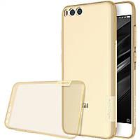 TPU чехол Nillkin Nature для Xiaomi Mi 6 (Золотой)