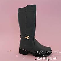 Серые зимние сапоги на молнии марки обуви ТомМ р. 35, фото 2