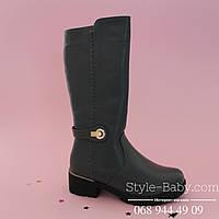 Серые зимние сапоги на молнии марки обуви ТомМ р. 33,35,36