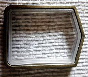Кольцо квадратное 20 мм, антик