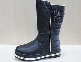 Черные зимние сапоги на девочку тм Том.м р.38, фото 2