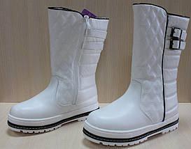 Белые зимние сапоги на девочек тм Том.м р.38, фото 2
