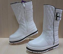 Белые зимние сапоги на девочек тм Том.м р.38, фото 3