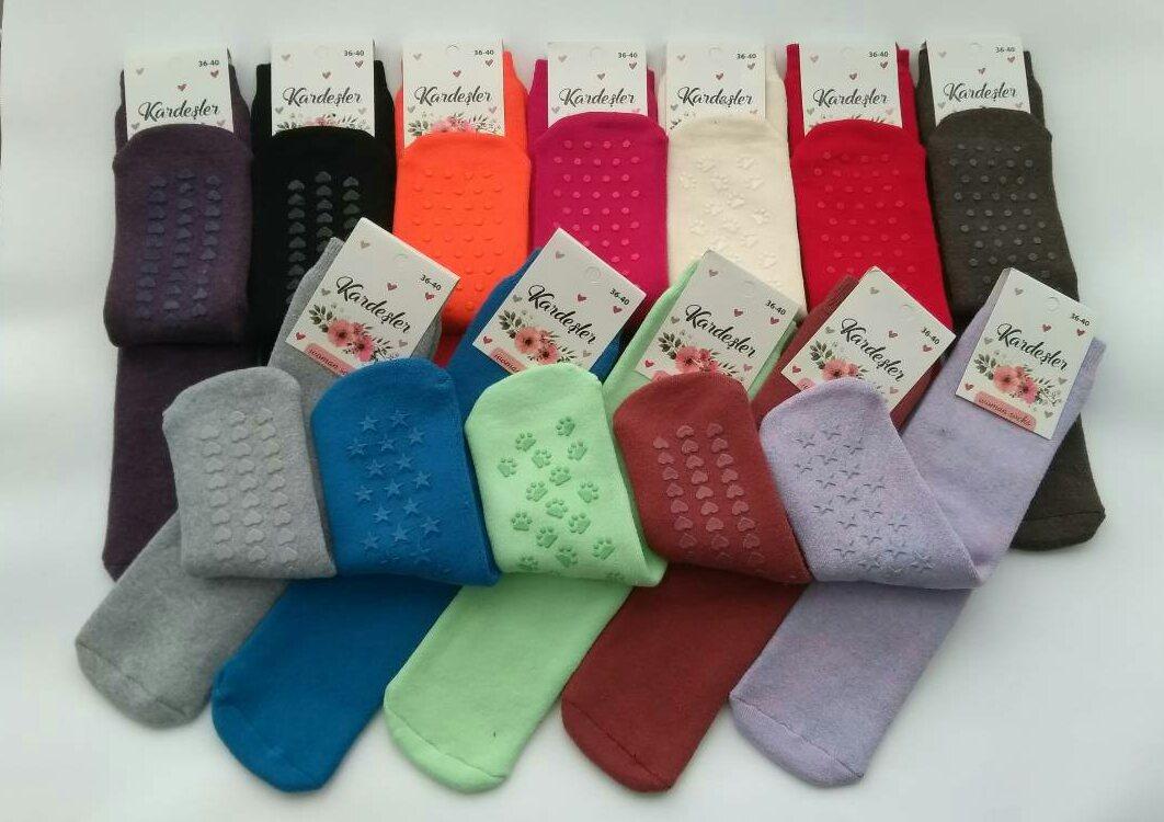 Махровые женские носки Kardesler