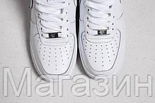 Женские высокие кроссовки Nike Air Force High высокие Найк Аир Форс белые, фото 3