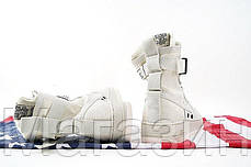 Женские высокие кроссовки Nike Special Field Air Force 1 Найк Аир Форс белые, фото 3