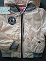 Куртка весенняя для девочки Бомбер Размеры 36- 42, фото 6