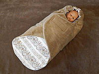 Теплый конверт демисезон для новорожденного