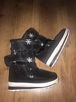 Женская зимняя обувь Сапоги на липучке , фото 1