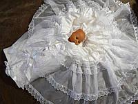 Праздничный конверт для новорожденного