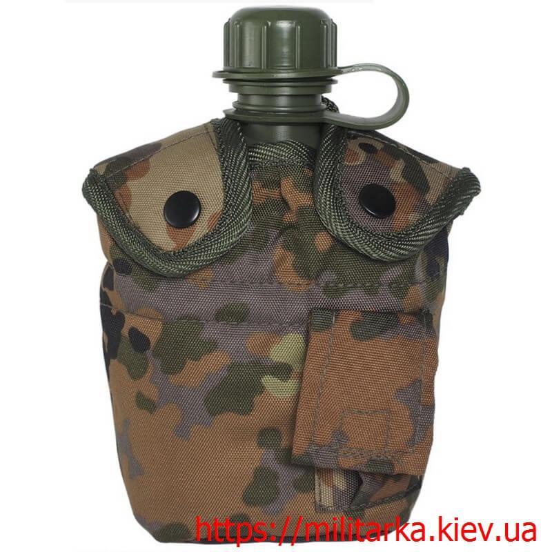 Фляга военная со стаканом флектарн