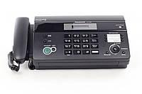 Тел / факс PANASONIC KX-FT982UA-B Black (АОН, Caller ID, автоматический подавич документов, телефонная книга,