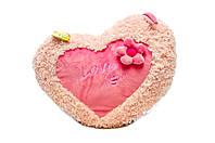 Подушка Сердце цветок Левеня 52 см (К103СЕ)
