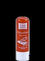 Fresh Juice Гигиеническая помада Шоколад(Chocolate)  3,6г