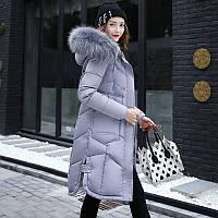 Пуховик - пальто женский. Теплый. Новейшая модель 2017-18г.