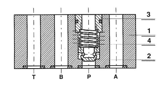 Обратный клапан типа wzzc06x
